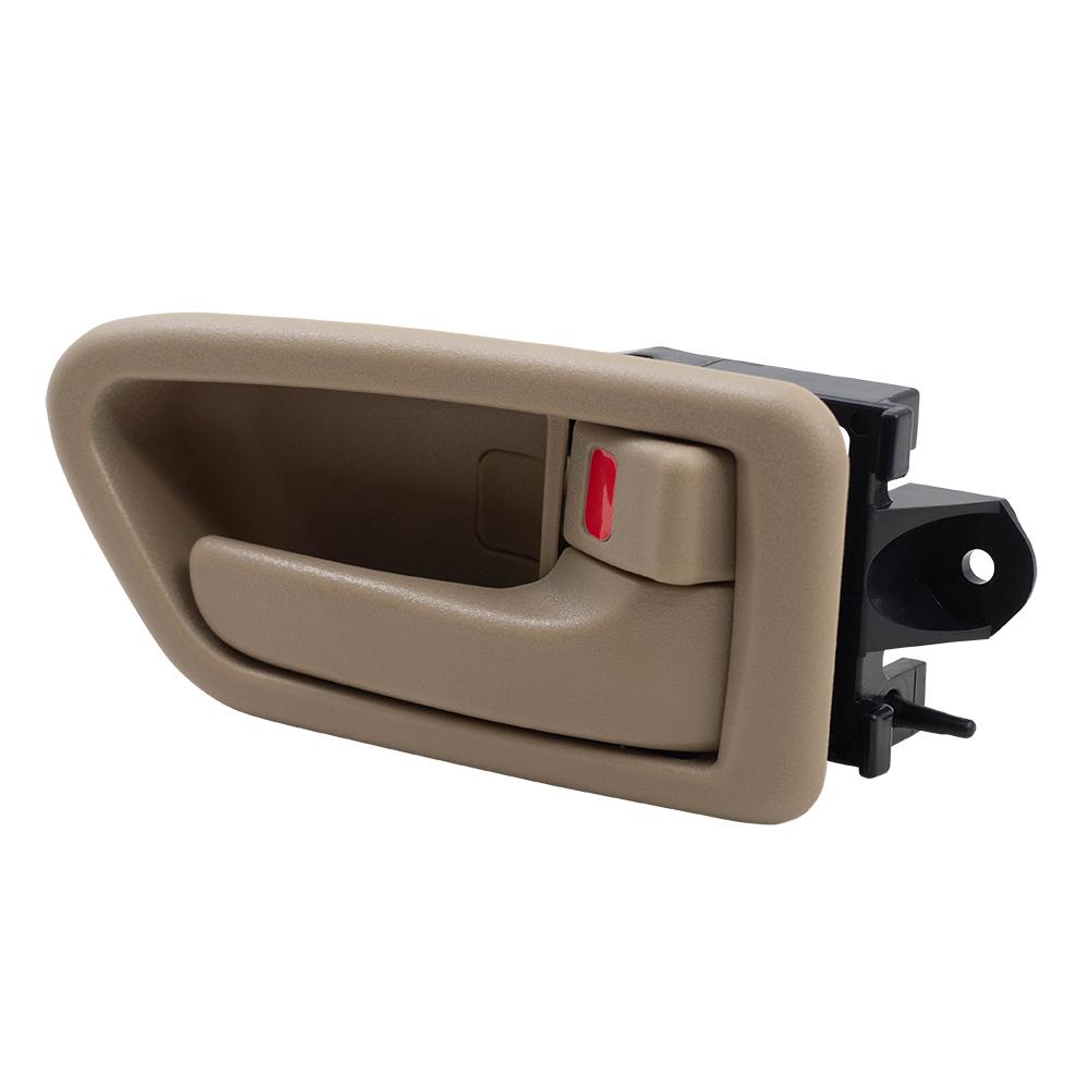 97 01 Toyota Camry Set Of Inside Tan Door Handles Trim Bezels
