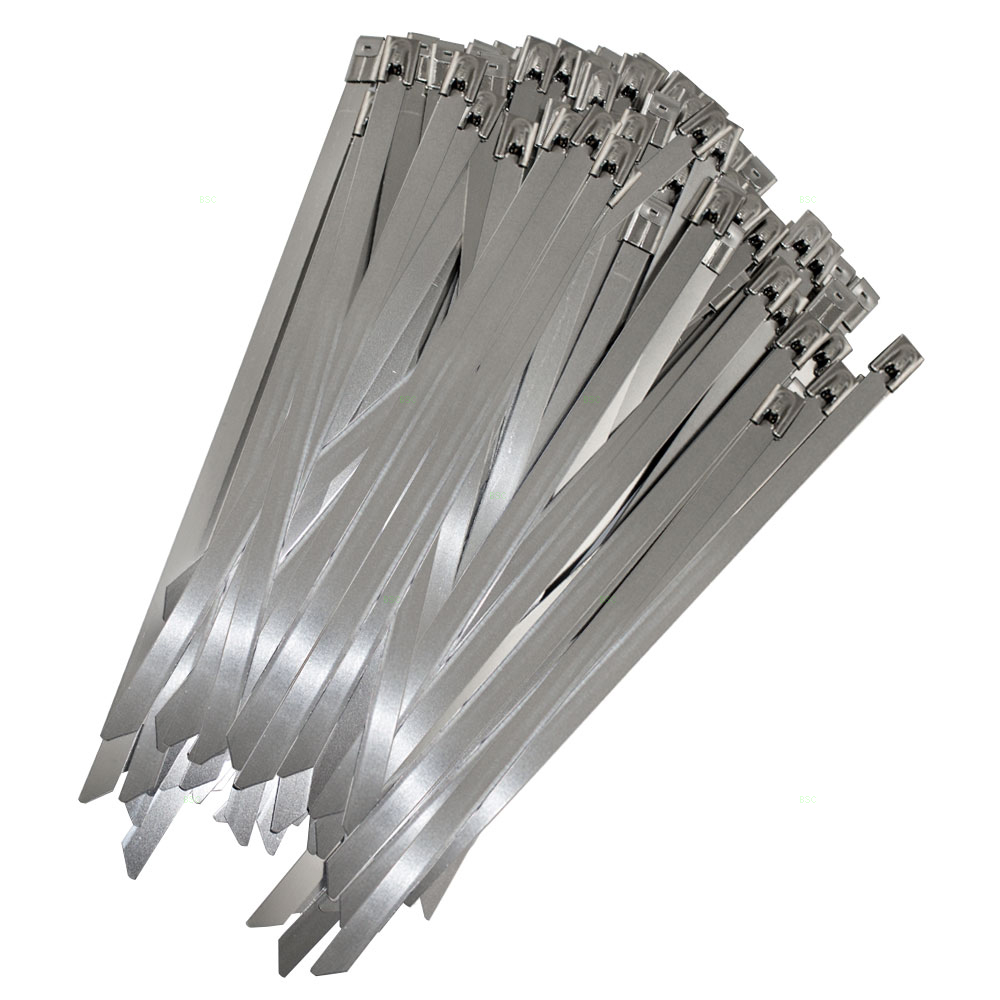 Steel Cable Ties : Everydayautoparts pc stainless steel metal cable