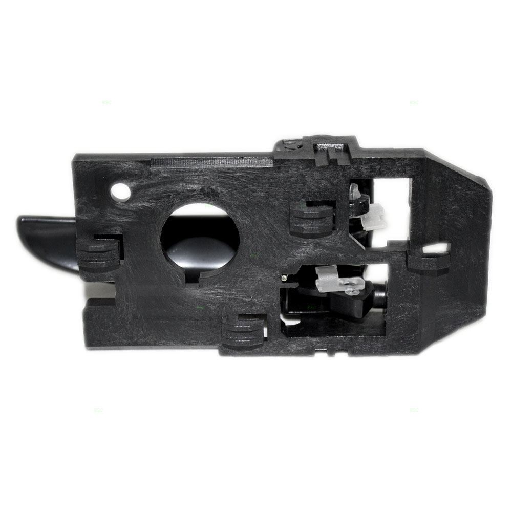 01 06 Hyundai Elantra Drivers Inside Rear Black Door Handle