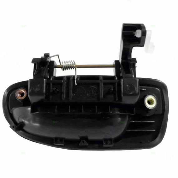 00 05 hyundai accent passengers outside rear door handle assembly Hyundai accent exterior door handle