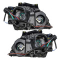 Picture of 04-06 Chrysler Pacifica New Pair Set Halogen Headlight Headlamp Housing Assembly DOT