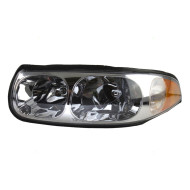 Picture of 00 Buick LeSabre Limited New Drivers Headlight Headlamp Lens Housing with Smooth High Beam