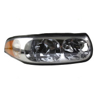 Picture of 00 Buick LeSabre Limited New Passengers Headlight Headlamp Lens Housing with Smooth High Beam