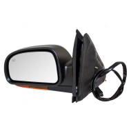 Picture of 02-03 Chevy Trailblazer & EXT GMC Envoy & XL Oldsmobile Bravada New Drivers Power Side View Mirror Heated Amber Signal