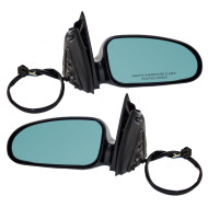 Picture of 00-05 Pontiac Bonneville New Pair Set Power Side View Mirror Clear Glass Housing Heated Memory