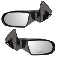 Picture of 89-94 Geo Metro Suzuki Swift New Pair Set Manual Side View Mirrors Glass Housing Assembly