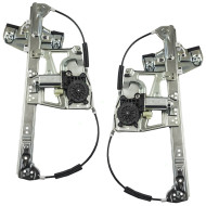 Picture of 00-01 Cadillac Deville New Pair Set Front Window Lift Regulators with Motors