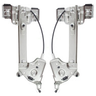 Picture of 01 02 03 Oldsmobile Aurora New Pair Set Rear Power Window Lift Regulators Aftermarket