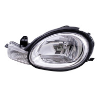 Picture of 00-02 Dodge Neon New Drivers Headlight Headlamp Assembly w/ Chrome Bezel & Rubber Gasket DOT