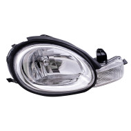 Picture of 00-02 Dodge Neon New Passengers Headlight Headlamp Assembly w/ Chrome Bezel & Rubber Gasket DOT