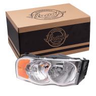 Picture of 02-05 Dodge Pickup New Passengers Headlight Headlamp Lens Housing Assembly SAE & DOT