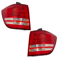 Picture of 2009 Dodge Journey New Pair Set Taillight Taillamp Quarter Panel Mounted Lens Housing Assembly