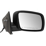 Picture of 09-15 Dodge Journey New Passengers Power Side View Mirror Glass Housing Heated Textured