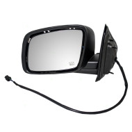 Picture of 09-15 Dodge Journey New Drivers Power Side View Mirror Glass Housing Heated Paint-to-Match 10H5P Connector