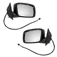 Picture of 09-15 Dodge Journey New Pair Set Power Side View Mirror Glass Housing Heated Paint-to-Match 10H5P Connector