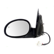 Picture of 01-03 Chrysler PT Cruiser New Drivers Power Side View Mirror Glass Housing Heated Textured Assembly