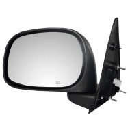 Picture of 02-09 Dodge Pickup Truck New Drivers Power Side View Mirror Glass Housing Heated 6x9 Textured Assembly