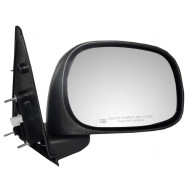Picture of 02-09 Dodge Pickup Truck New Passengers Power Side View Mirror Glass Housing Heated 6x9 Textured Assembly