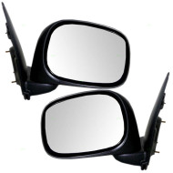 Picture of 02-09 Dodge Ram Pickup Truck New Pair Set Manual Side View Mirror Glass Housing Assembly