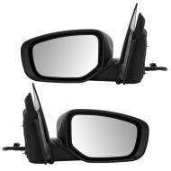 Picture of 13-14 Dodge Dart New Pair Set Power Side View Mirror Glass Housing Assembly