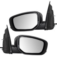 Picture of 13-14 Dodge Dart New Pair Set Power Side View Mirror Glass Housing Heat Heated Signal Puddle Lamp