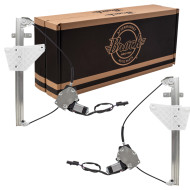 Picture of 01-04 Grand Cherokee New Pair Set Rear Window Lift Regulators with Motors Aftermarket