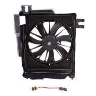 Picture of 02-09 Dodge Pickup Truck New AC A/C Condenser Fan Assembly Aftermarket Replacement