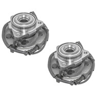 Picture of 02-05 Ford Explorer Mercury Mountaineer SUV New Pair Set Front Wheel Hub Bearing Assembly