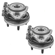 Picture of Ford Ranger Explorer & Sport Trac Mazda Pickup Truck Mercury Mountaineer New Pair Set Front Wheel Hub Bearing Assembly