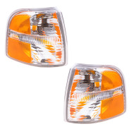 Picture of 02-05 Ford Explorer New Pair Set Park Signal Light Lamp Lens Housing Assembly SAE & DOT