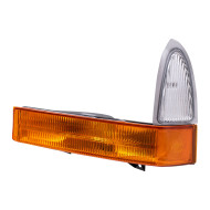 Picture of 01 Ford Super Duty Pickup Truck New Drivers Signal Corner Marker Light Lamp Assembly DOT