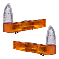 Picture of 01 Ford Super Duty Pickup Truck New Pair Set Signal Corner Marker Light Lamp Assembly DOT