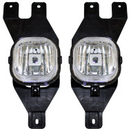Picture of 01-04 Ford Excursion Super Duty Pickup Truck New Pair Set Fog Light Lamp Assembly SAE