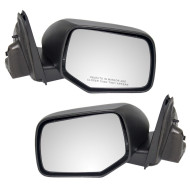 Picture of 08-09 Ford Escape Mercury Mariner & Hybrid SUV New Pair Set Power Side View Mirror Glass Housing