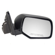 Picture of 08-09 Ford Escape Mercury Mariner & Hybrid SUV New Passengers Power Side View Mirror Glass Housing