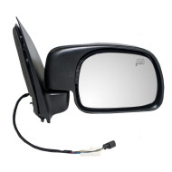 Picture of 00-01 Ford Excursion SUV New Passengers Power Side View Mirror Glass Housing Heated Paddle Type Assembly