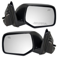 Picture of 08-09 Ford Mercury SUV New Pair Set Power Side View Mirror Glass Housing Heat Heated
