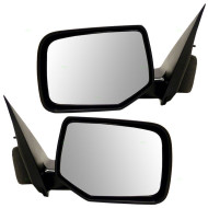 Picture of 08-09 Ford Escape Mercury Mariner & Hybrid New Pair Set Power Side View Mirror Glass Housing Heated
