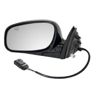 Picture of 04-08 Lincoln Town Car New Drivers Power Side View Mirror Glass Housing Heated with 12H5P Connector