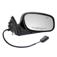 Picture of 03-08 Lincoln Town Car New Passengers Power Side View Mirror Glass Housing Heated