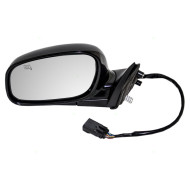 Picture of 04-08 Lincoln Town Car New Drivers Power Side Mirror Glass Housing Heated Memory with 12H10P Connector