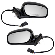 Picture of 04-08 Lincoln Town Car New Pair Set Power Side Mirror Glass Housing Heated Memory with 12H10P Connector