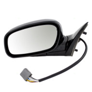 Picture of 03-04 Lincoln Town Car New Drivers Power Side Mirror Glass Housing Heat Heated Smooth