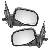 Picture of 02-05 Explorer Mountaineer New Pair Set Power Side View Mirror Glass Housing Puddle Lamp