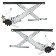 Picture of Ford F-150 Lincoln Blackwood Pickup Truck New Pair Set Front Power Window Lift Regulators & Motors