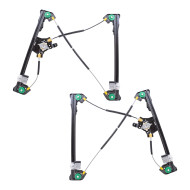 Picture of 04-08 Ford F-150 Super Cab Pickup Truck New Pair Set Front Power Window Lift Regulator Assembly