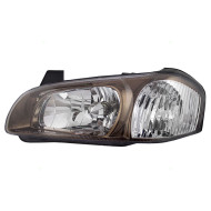 Picture of 00 01 Nissan Maxima New Drivers Halogen Headlight Headlamp Lens with Bronze Bezel Housing Assembly