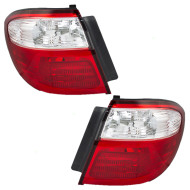 Picture of 00-01 Infiniti I30 New Pair Set Taillight Taillamp Quarter Panel Mounted Lens Housing Assembly DOT