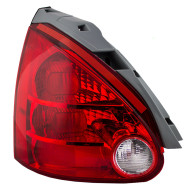 Picture of 04-06 Nissan Maxima New Drivers Taillight Taillamp Lens Housing Assembly SAE DOT Stamped