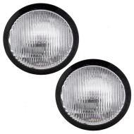 Picture of 04-06 Nissan Maxima New Pair Set Cornering Light Lamp Bumper Mounted Lens Housing DOT